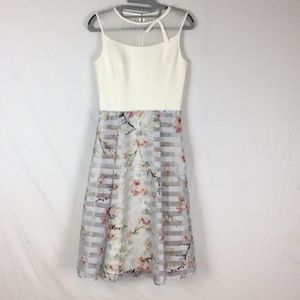 Ted Baker Monah Cherry Blossom Midi Dress